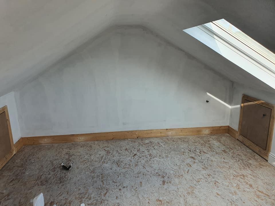 attic gable wall