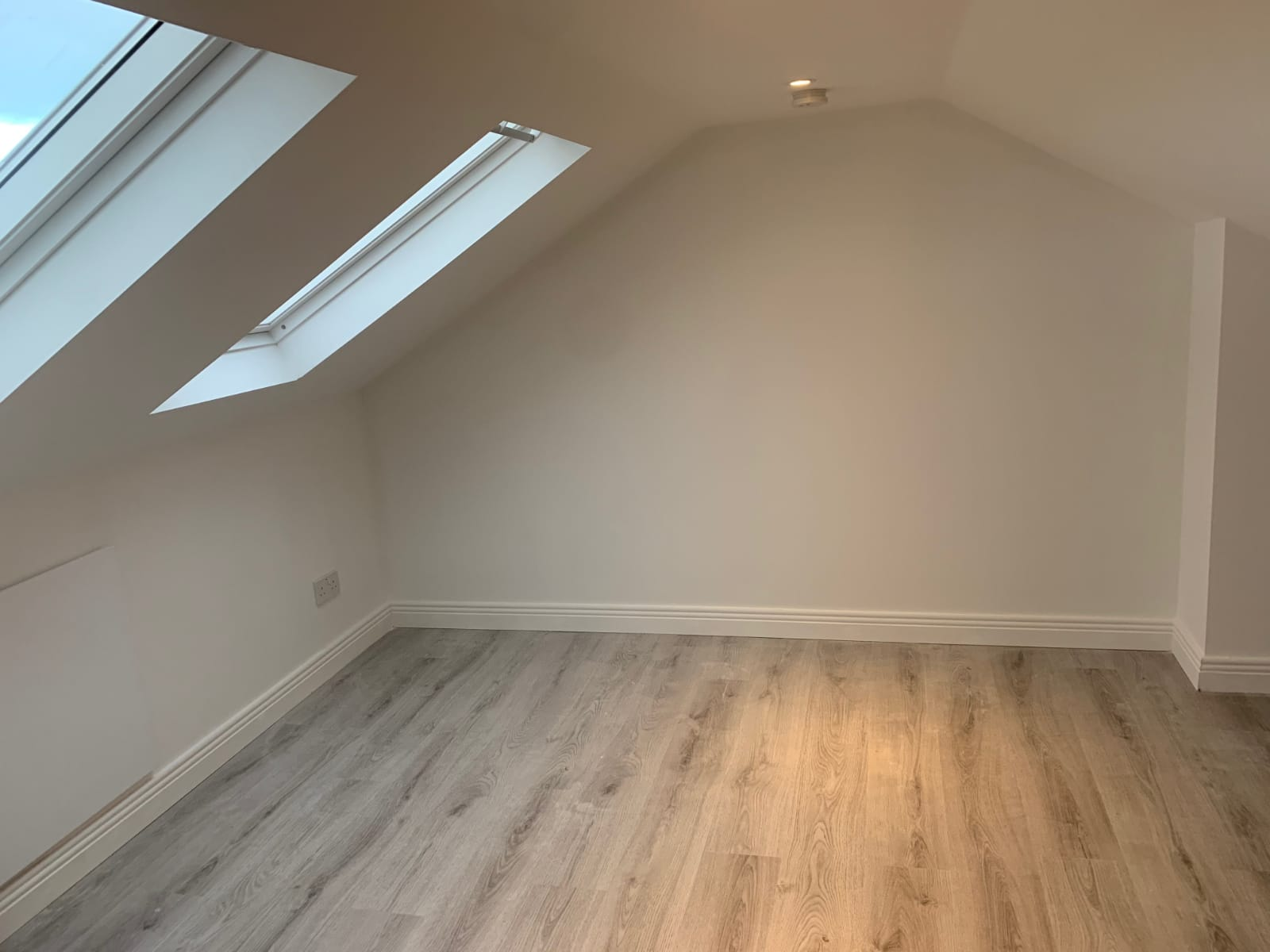 completed attic conversion