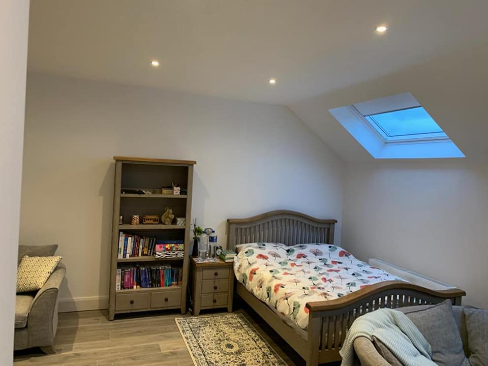 converted leixlip attic