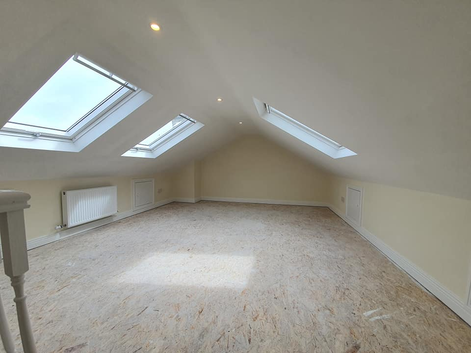 finished attic howth