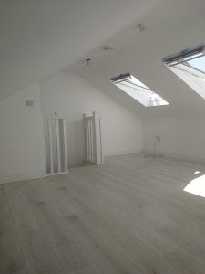 converted attic space