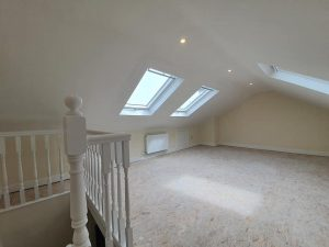 converted attic howth