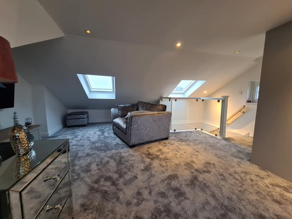 hipped attic roof extension