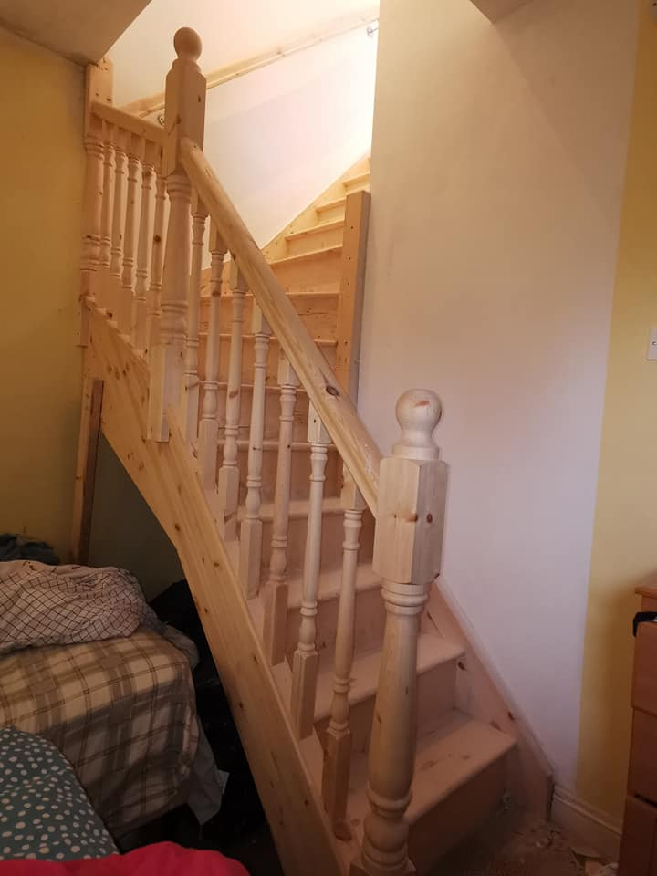 attic stairs finglas