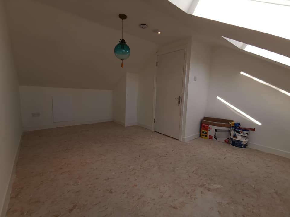 convert attic into a bedroom