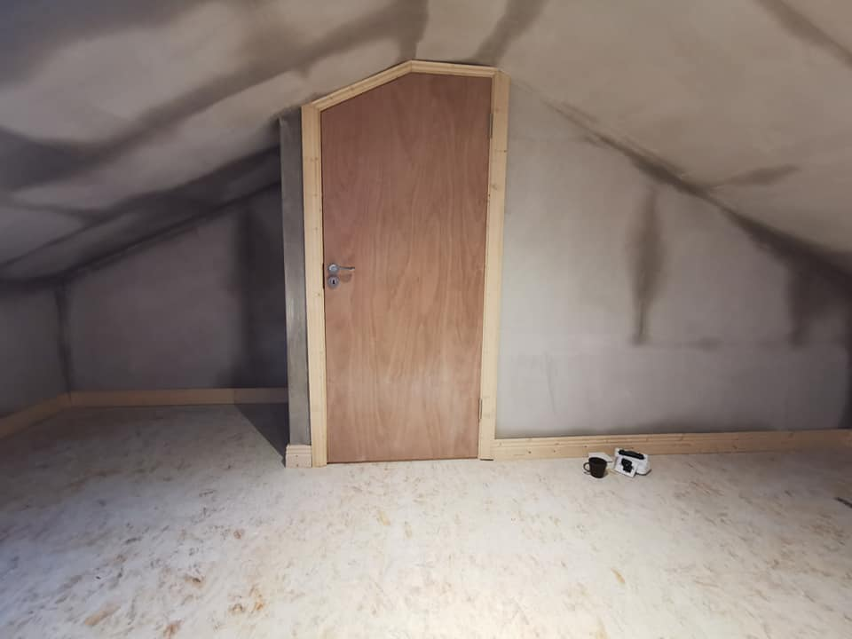finished attic conversion
